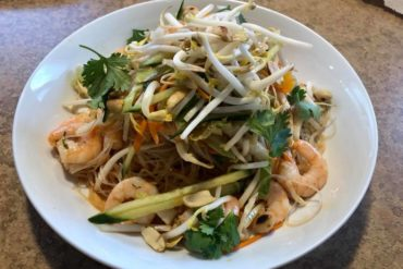Zen Noodle House and Sizzler dish