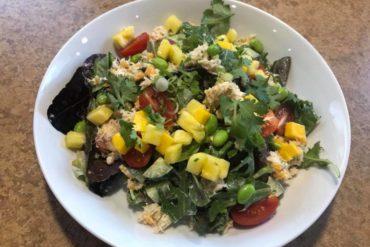 zen noodle house and sizzler salad